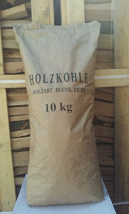 Buchen Holzkohle 20kg Premium Grillkohle